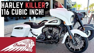 Harley Killer? 116 c.i. 2019 Indian Chieftain Test Ride, Impressions, Review, Demo