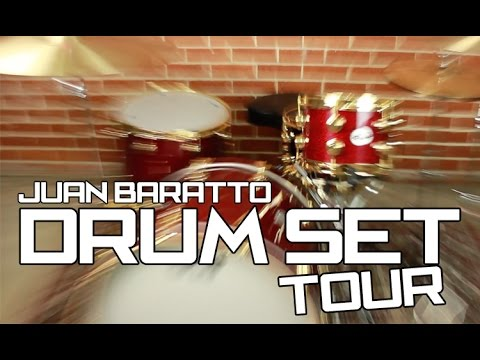 Juan Baratto: DRUM SET TOUR!