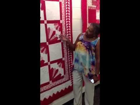 O.V. Brantley shares her quilt Delta Menopause