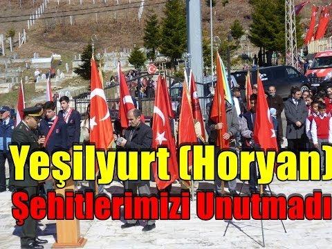 Yeşilyurt (Horyan) Şehitlerimizi Unutmadı Araklı Haber www...