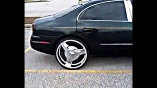 Oldsmobile aurora on 24's with sound system