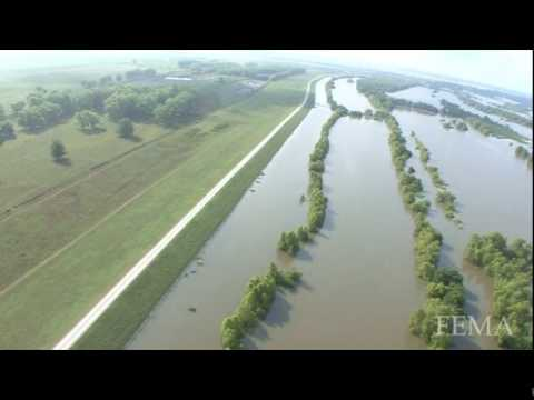 Angola Prison Flooding Angola State Prison Aerial