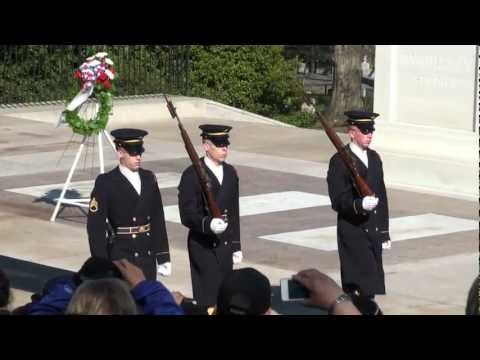 Tomb of the Unknown Soldier - Changing Of The Guard - Arlington National Cemetery