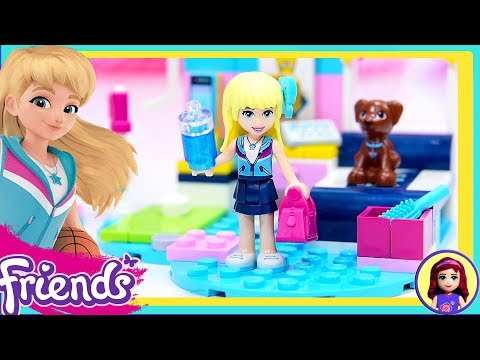 Lego Friends Stephanie's Bedroom Build Review Silly Play Kids Toys