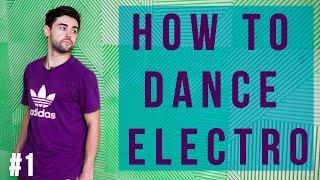 Loony Boy Electro dance lessons Part 1 New York Dance Studio