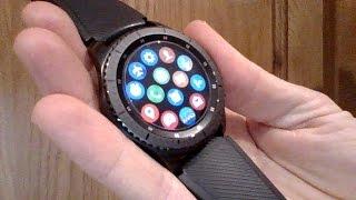 Samsung Gear S3 App launcher widget - App review