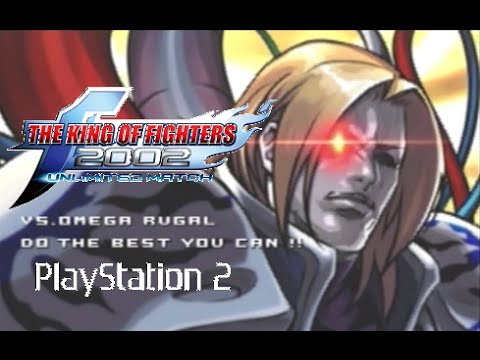 The King of Fighters 2002 Unlimited Match playthrough (Playstation 2)