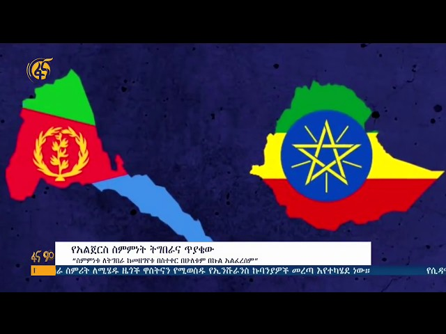 Scholars About Ethio-Eritrea | Algiers Agreement