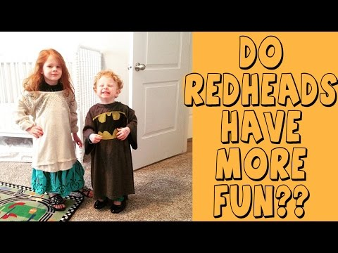 DO REDHEADS REALLY HAVE MORE FUN
