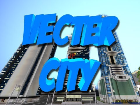 Una Ciudad en MINECRAFT!! Vecter City