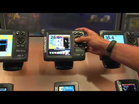 Lowrance Elite-5 HDI Series: ICast 2013
