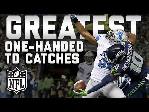 Greatest One-Handed Touchdown Catches of All Time  TDTuesday  NFL Highlights
