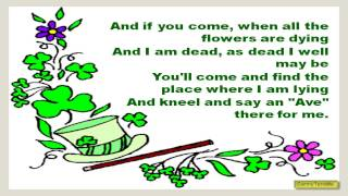 Irish Song: Oh Danny Boy with Ukelele Accompaniment | Saint Patrick's Day