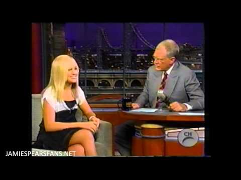 Jamie Lynn Spears - Late Show with David Letterman