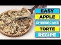 Easy Apple Almond Cheesecake Torte Recipe