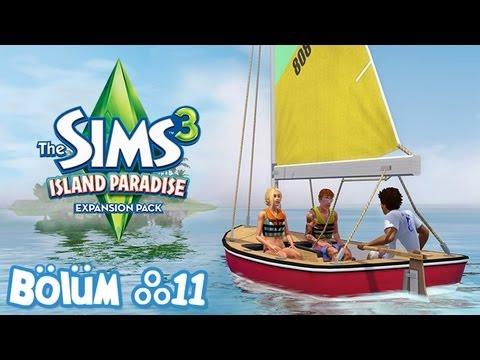 The Sims 3 Oynuyoruz! - Bölüm 11 - İlk Sandığımız ve Harita Parçamız!