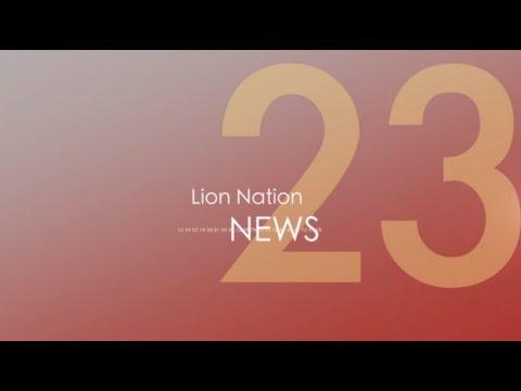Lion Nation News January 12, 2015 video
