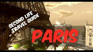 Where to go in Second Life ~ Paris