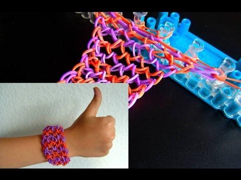 Станок для плетение из резинок видео