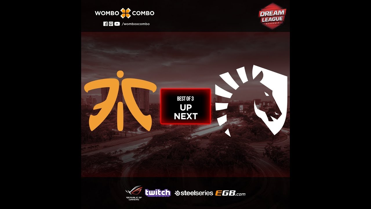 Fnatic vs Team Liquid Game 1 (BO3) l Corsair DreamLeague Season 9