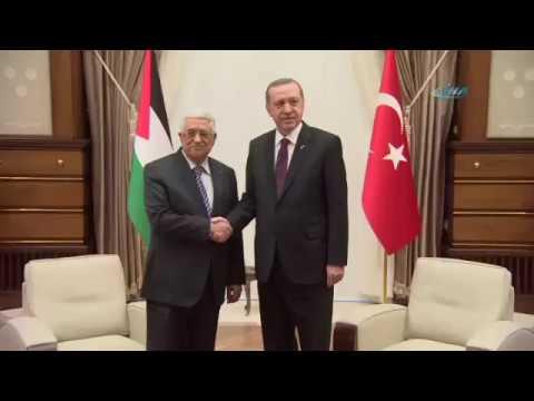 Cumhurbaşkanı Erdoğan, Abbas İle Telefonla Görüştü