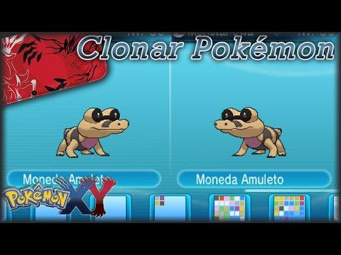 Como Clonar en Pokémon X Y mediante intercambio Objetos y Pokémon