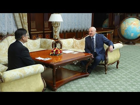 Лукашенко обсудил с послом Китая подготовку к саммиту ШОС и развитие двусторонних отношений