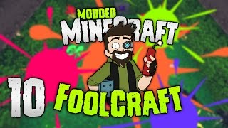 Minecraft: FOOLCRAFT | #10: COLOR SPLAT! 🍀🍁🌸 [Modded Minecraft]