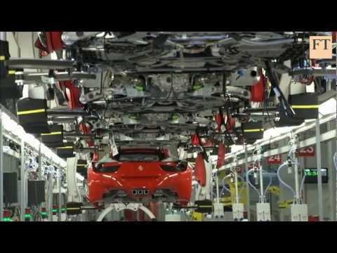 Inside Ferrari's car factory