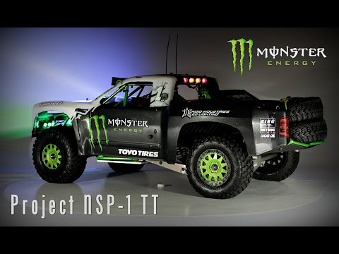 Project NSP-1 RC Trophy Truck :: Official BJ Baldwin Release Video