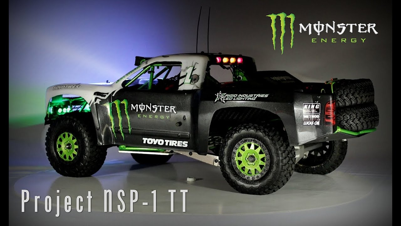 Project nsp 1 rc trophy truck official bj baldwin for Bj custom designs