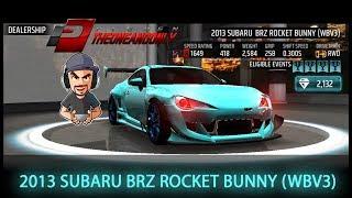 Racing Rivals Subaru BRZ Rocket Bunny (WBV3) New Turf Car???
