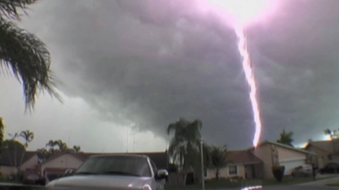 Lightning Hits My Truck Youtube