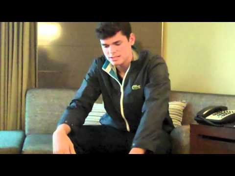 Inside the Life of Milos Raonic- Australian Open 2012