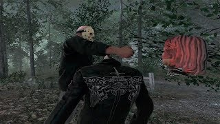 PUÑETAZO EN LA CABEZA!!! FRIDAY THE 13th: THE GAME