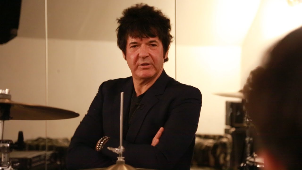 Clem Burke's Drum Masterclass for 6 Music pt1