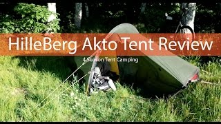 Hilleberg Akto Tent Infield Review