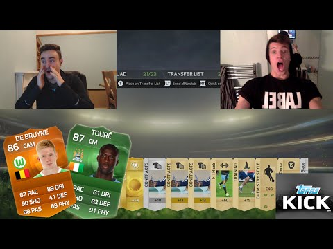 SPECIAL YAYA TOURE CARD!! FIFA 15 PACK OPENING & TOPPS KICK W/ AJ3FIFA
