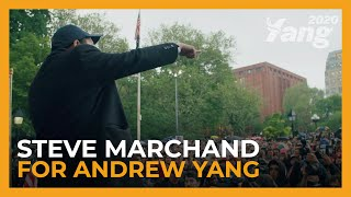 Steve Marchand for Andrew Yang