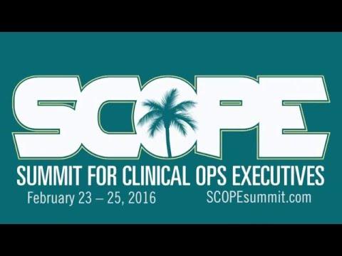SCOPE Keynote Merck & Tufts