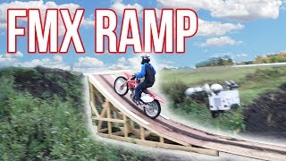 Download WE BUILT OUR OWN FMX RAMP!!! 3Gp Mp4