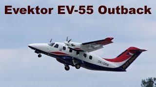 Evektor EV-55 Outback, Airshow Prerov 2018