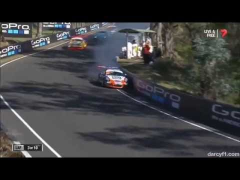 Patrizi Crash @ 2014 Porsche Carrera Cup Bathurst Race 3
