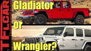Jeep Gladiator or Jeep Wrangler? | What Car or Truck Should I Buy Ep. 1