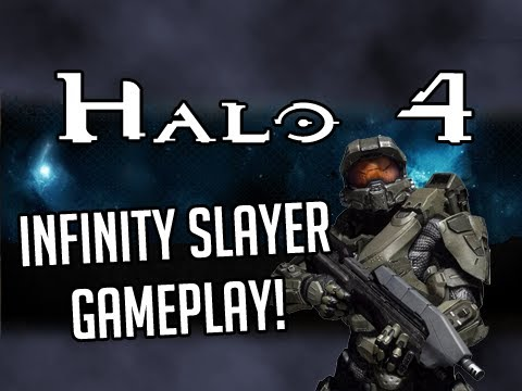 Halo 4 - Multiplayer Gameplay Infinity Slayer (Team Deathmatch)