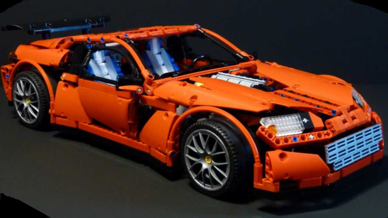 lego technic supercar rc with 2 speed gearbox youtube. Black Bedroom Furniture Sets. Home Design Ideas