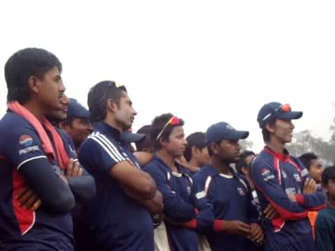 Nepal Vs. UAE post match ceremony , SemiFinal ACC T20 2013