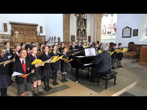 The Abbey Chapel Choir performs Ocean World by Peter Rose and Anne Conlon at St Mary's Church Woodbridge on 25 March 2014.