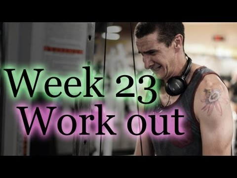 Week 23 Back, Biceps, and Triceps Work Out