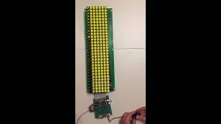 Tetris on Flip-Dot Display